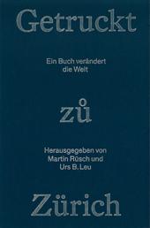 Getruckt zuo Zürich