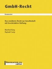 GmbH-Recht Kommentar, Umschlag gross anzeigen