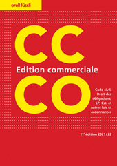 CC/CO Edition commerciale, Umschlag gross anzeigen