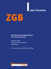ZGB plus Verweise
