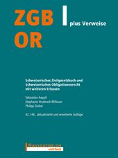 ZGB/OR plus Verweise, Umschlag gross anzeigen
