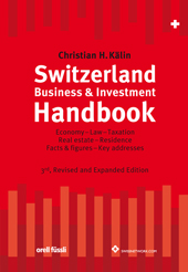 Switzerland Business & Investment Handbook, Umschlag gross anzeigen