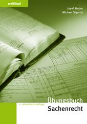 Übungsbuch Sachenrecht, Umschlag gross anzeigen