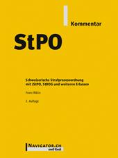 StPO Kommentar, Umschlag gross anzeigen