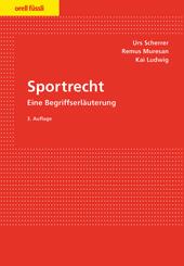Sportrecht, Umschlag gross anzeigen