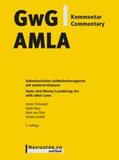 GwG Kommentar / AMLA Commentary, Umschlag gross anzeigen