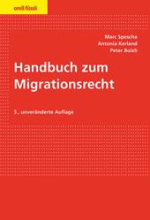 Handbuch zum Migrationsrecht, Umschlag gross anzeigen
