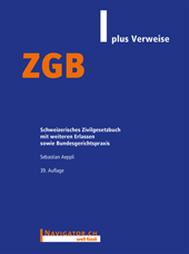 ZGB plus Verweise, Umschlag gross anzeigen