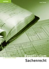 Repetitorium Sachenrecht