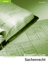 Repetitorium Sachenrecht, Umschlag gross anzeigen