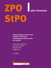 ZPO/StPO plus Verweise