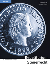 Repetitorium Steuerrecht, Umschlag gross anzeigen
