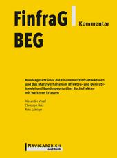 FinfraG/BEG Kommentar, Umschlag gross anzeigen