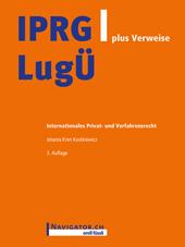 IPRG/LugÜ plus Verweise