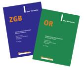 ZGB & OR plus Verweise Kombipaket, Umschlag gross anzeigen
