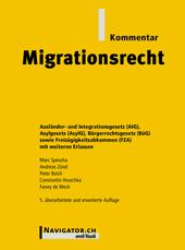 Migrationsrecht Kommentar, Umschlag gross anzeigen