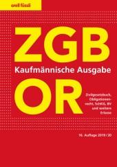 ZGB/OR Kaufmännische Ausgabe, Umschlag gross anzeigen