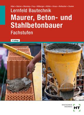 Maurer, Beton- und Stahlbetonbauer - Fachstufen