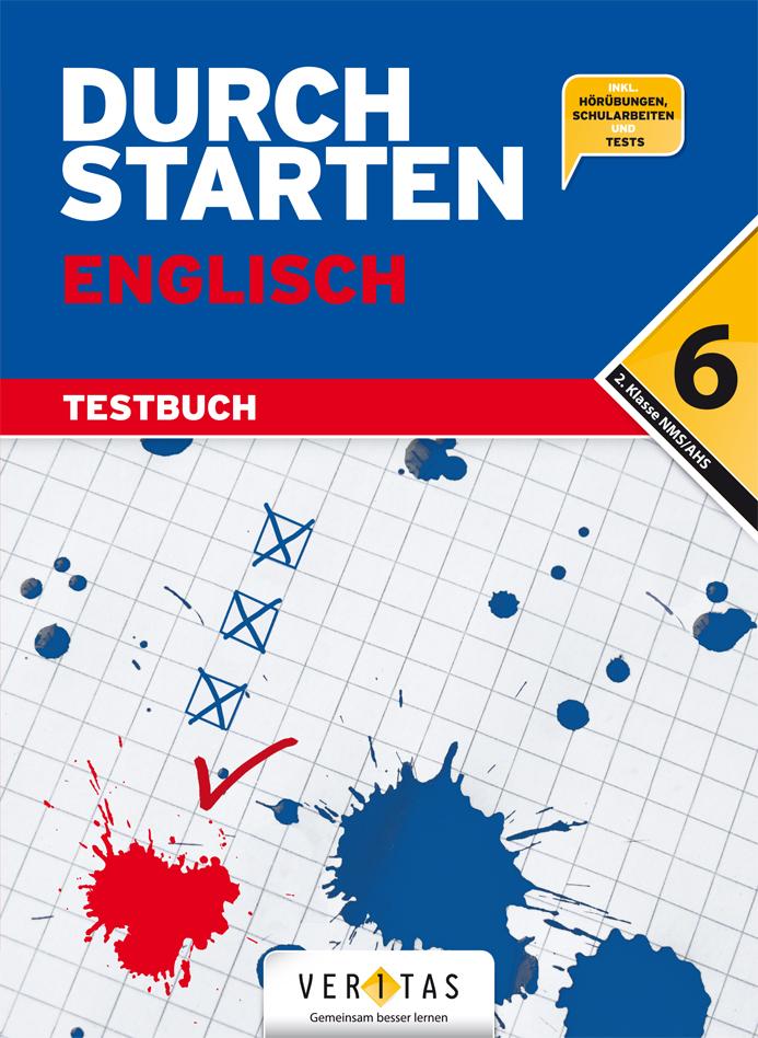 Durchstarten Englisch 6 Testbuch