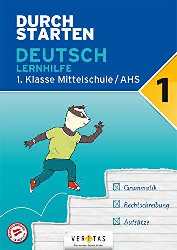 Durchstarten Deutsch – Lernhilfe, Umschlag gross anzeigen