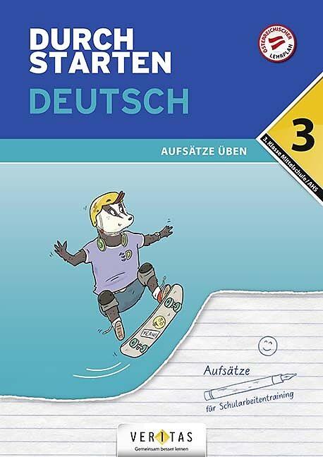 Durchstarten Deutsch 3. Klasse - Aufsätze üben