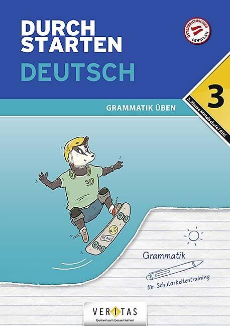 Durchstarten Deutsch 3. Klasse - Grammatik üben