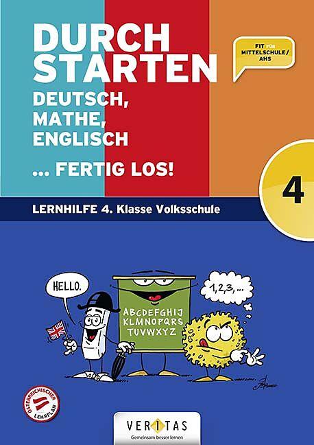 Durchstarten Deutsch, Mathe, Englisch, Umschlag gross anzeigen