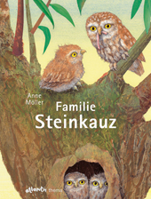 Familie Steinkauz, Umschlag gross anzeigen