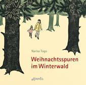 Weihnachtsspuren im Winterwald