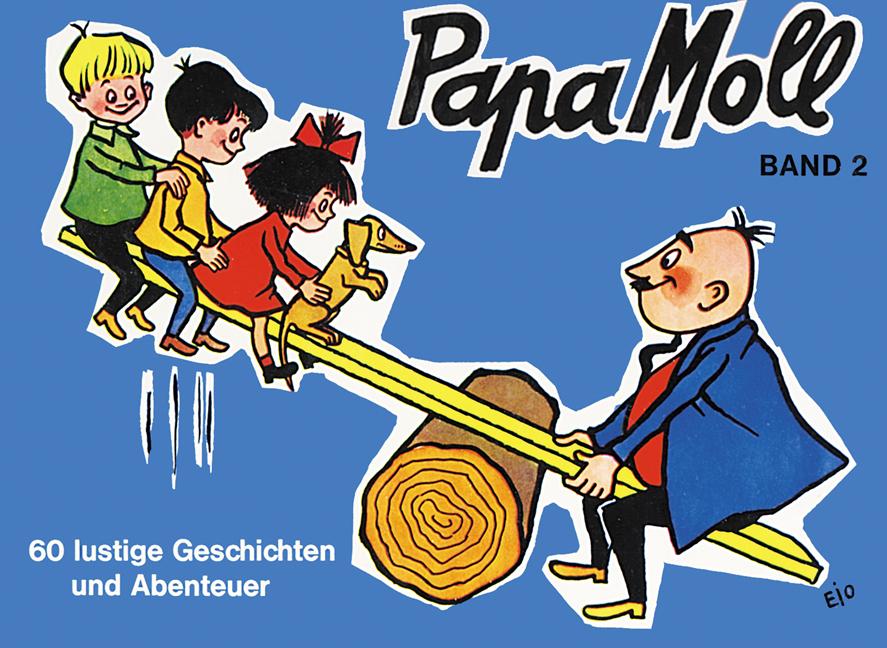 Papa Moll Band 2, blau, Umschlag gross anzeigen