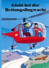 Globi bei der Rettungsflugwacht, Umschlag gross anzeigen