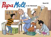 Papa Moll in der Werkstatt, Umschlag gross anzeigen