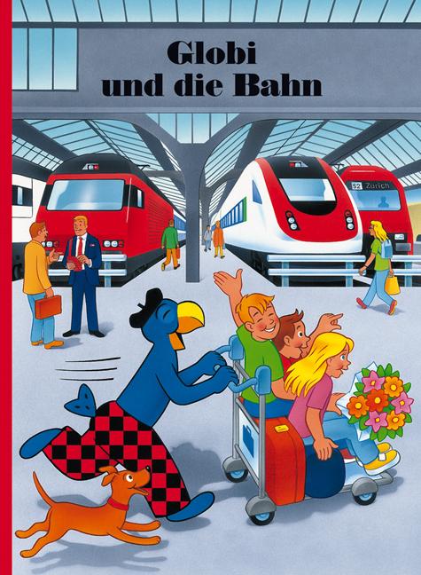 Globi und die Bahn, Umschlag gross anzeigen