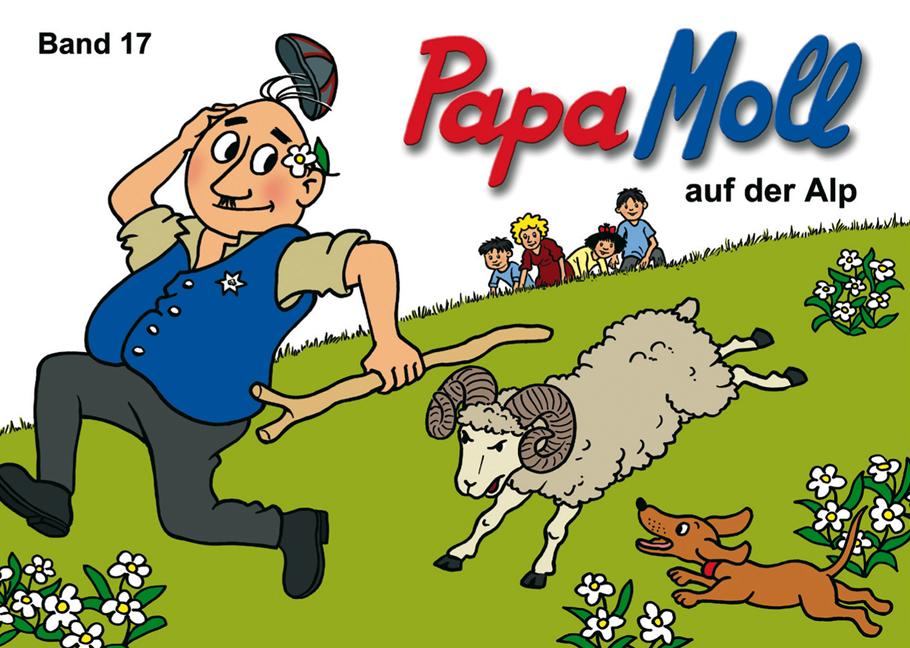 Papa Moll auf der Alp, Umschlag gross anzeigen