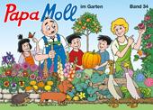 Papa Moll im Garten
