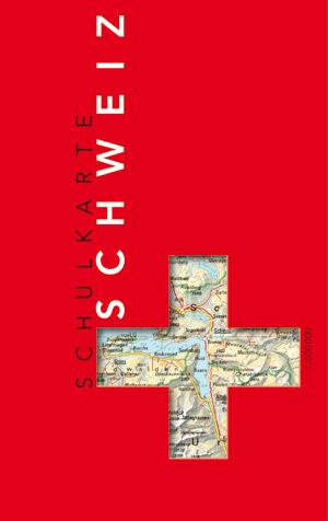 Schulkarte Schweiz 1:500 000