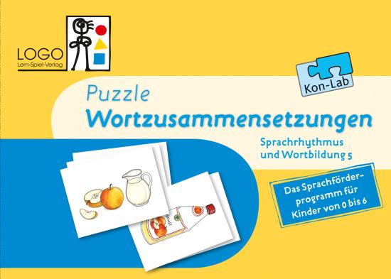 Puzzle Wortzusammensetzungen Kon-Lab