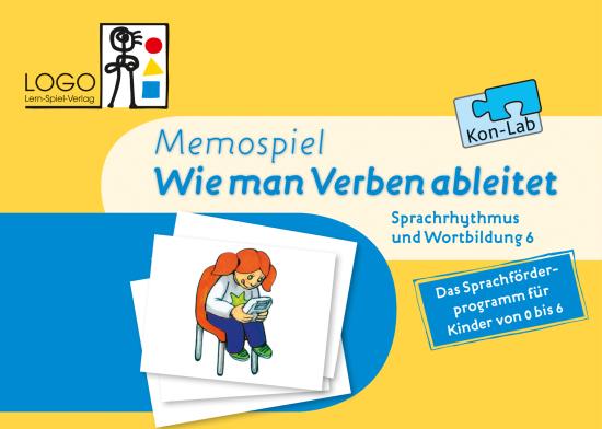 Memospiel - Wie man Verben ableitet Kon-Lab