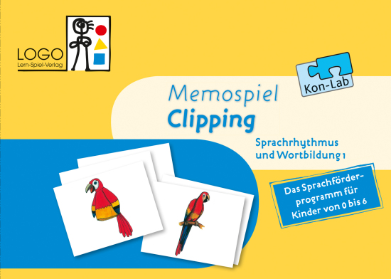 Memospiel Clipping Kon-Lab